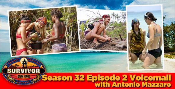 Survivor 2016: Antonio Mazzaro answers your Survivor Kaoh Rong week 2 voicemail