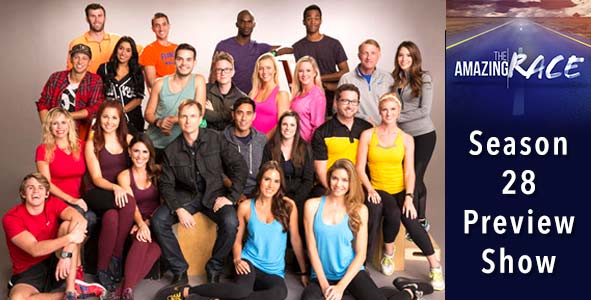 Amazing Race 2016: Season 28 Preview Podcast Draft Special
