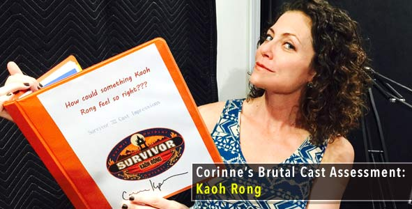 Survivor 2016: Corinne Kaplan Shares her Brutal Cast Assessment for Survivor Kaoh Rong