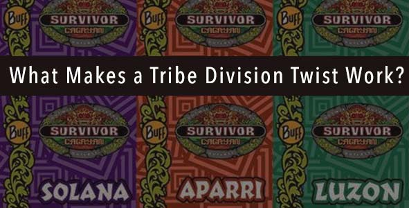 Survivor 2016: What Makes a Tribe Division Twist Work?
