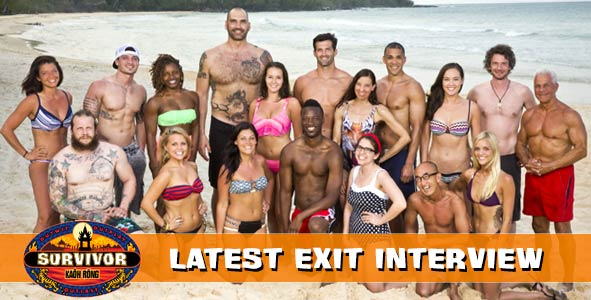 Survivor 2016: Exit Interview with the Latest Player Voted off of Survivor Kaoh Rong
