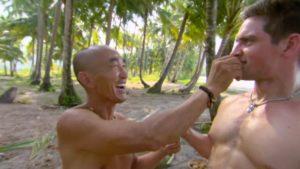 Tai Trang and Caleb in Survivor Kaoh Rong