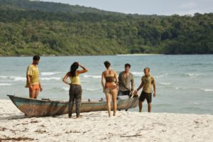 Nick Mairaono on Survivor Kaoh Rong