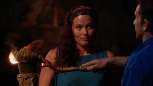 Liz Markham in Survivor Kaoh Rong
