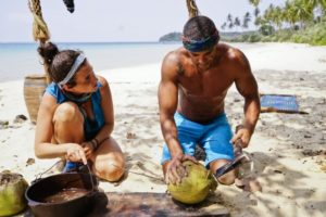 Aubry and Peter on the Brains in Survivor Kaoh Rong