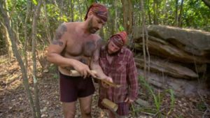 Scot and Jason on the Brawn tribe of Survivor Kaoh Rong