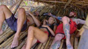 Jason, Scot, and Alecia in the Brawn camp