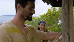 Nick and Debbie on Survivor Kaoh Rong