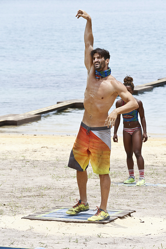 """""""Play or Go Home"""" -- Nick Maiorano during the sixth episode of SURVIVOR KAOH: RONG -- Brains vs. Brawn vs. Beauty. The show airs, Wednesday, March 23 (8:00-9:00 PM, ET/PT) on the CBS Television Network. Photo: Robert Voets /CBS Entertainment �©2016 CBS Broadcasting, Inc. All Rights. Reserved."""