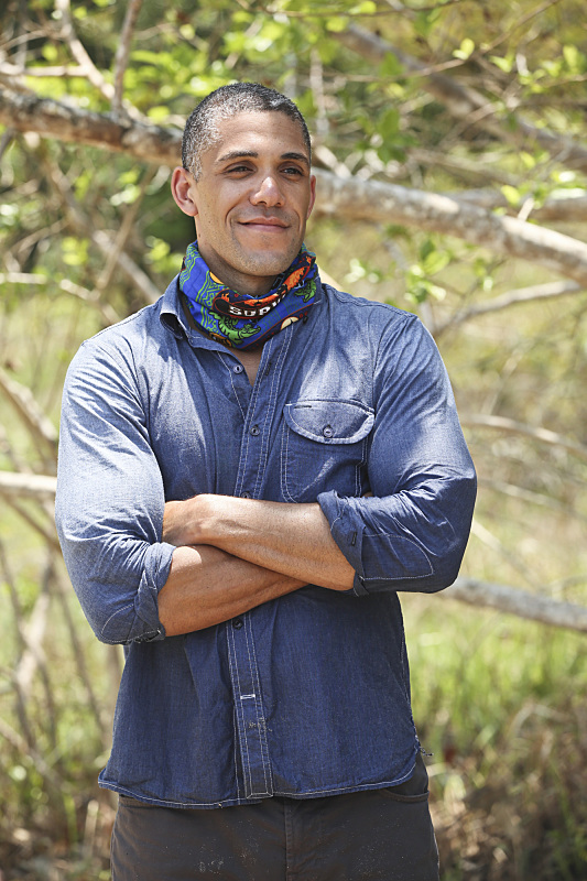 """""""I'm a Mental Giant"""" --Peter Baggenstos during the new season of SURVIVOR KAOH: RONG -- Brains vs. Brawn vs. Beauty.  The show premieres with a special 90-minute episode, Wednesday, February 17 (8:00-9:30 PM, ET/PT) on the CBS Television Network. Photo: Monty Brinton /CBS Entertainment �©2016 CBS Broadcasting, Inc. All Rights. Reserved."""