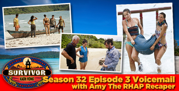 Survivor 2016: Amy H. answers your Survivor Kaoh Rong week 3 voicemail