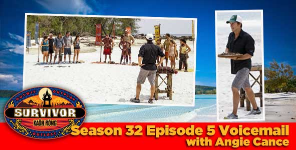 Survivor 2016: Angie Caunce answers your Survivor Kaoh Rong week 5 voicemail