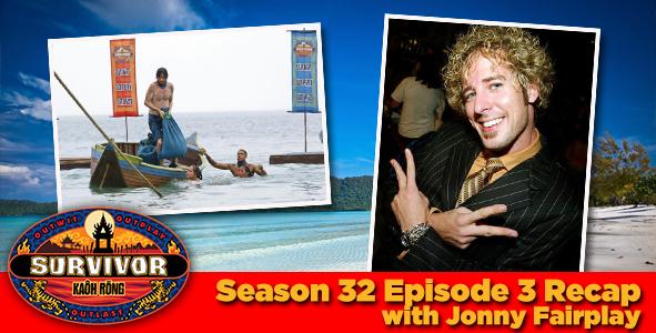 Survivor Kaoh Rong Episode 3 Recap with Jonny Fairplay