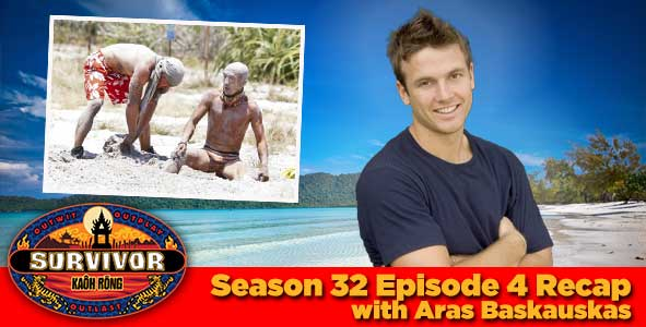Listen to our Week 4 Survivor Recap with Aras Baskauskas