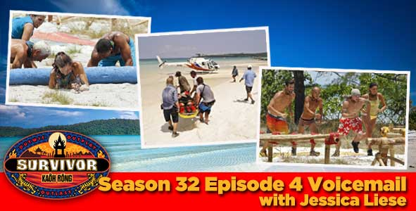 Survivor 2016: Jessica Liese answers your Survivor Kaoh Rong week 4 voicemail