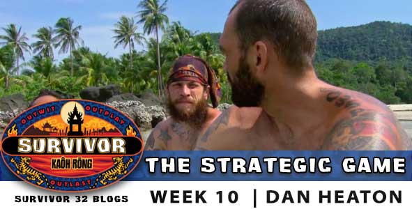 Survivor Strategic Game, season 32, episode 10