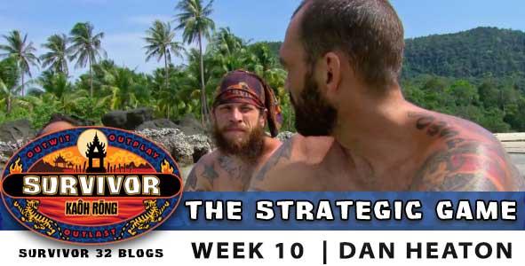 Survivor Strategic Game, season 32, episode 10