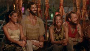 Tribal Council in Episode 32.8 of Survivor