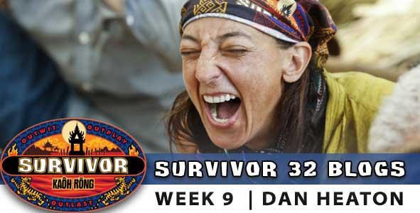 Debbie, episode 9 of Survivor Kaoh Rong