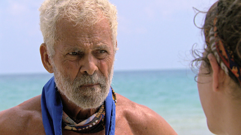 """""""It's Psychological Warfare"""" -- Joseph Del Campo during the ninth episode of SURVIVOR: KAOH RONG -- Brains vs. Brawn vs. Beauty. The show airs, Wednesday, April 13 (8:00-9:00 PM, ET/PT) on the CBS Television Network. Photo: Screen Grab /CBS Entertainment �©2016 CBS Broadcasting, Inc. All Rights. Reserved."""