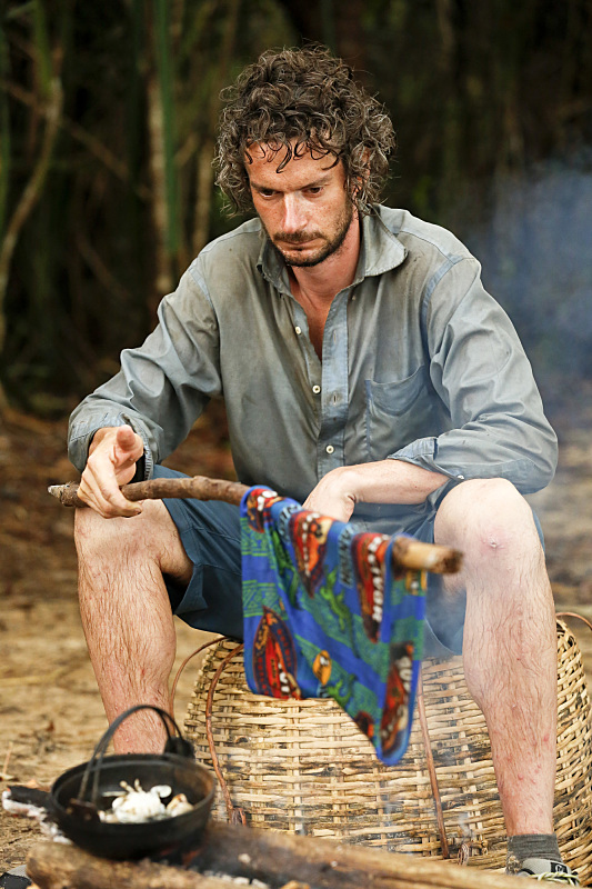 """""""It's Merge Time"""" -- Neal Gottlieb during the seventh episode of SURVIVOR KAOH: RONG -- Brains vs. Brawn vs. Beauty. The show airs, Wednesday, March 30 (8:00-9:00 PM, ET/PT) on the CBS Television Network. Photo: Robert Voets /CBS Entertainment �©2016 CBS Broadcasting, Inc. All Rights. Reserved."""