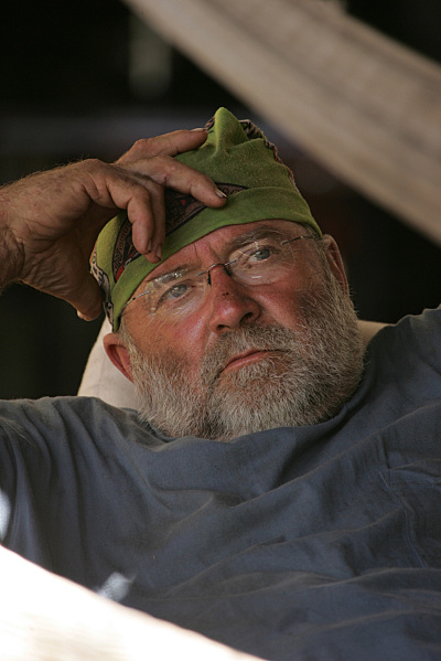 Gary Stritesky of the Moto tribe, during the fourth episode of SURVIVOR: FIJI which aired on Thursday, March 1, (8:00-9:00 PM ET/PT) on the CBS Television Network. Photo: Monty Brinton/CBS ©2006 CBS Broadcasting Inc. All Rights Reserved