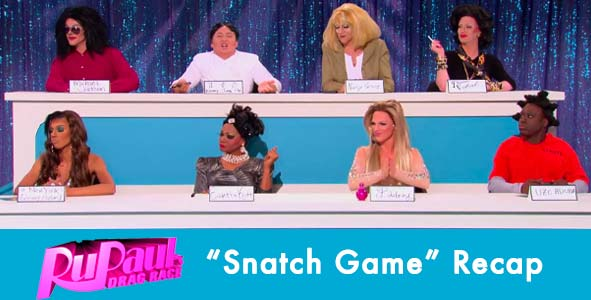 "Checking in with Ru-Paul's Drag Race after the ""Snatch Game"""