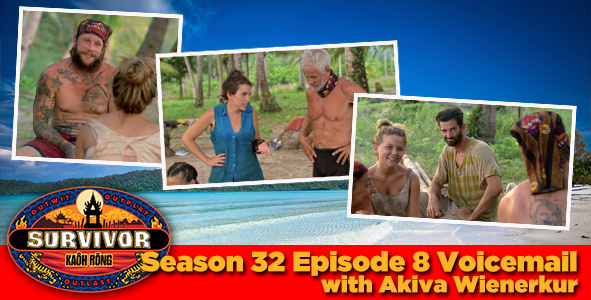 Survivor 2016: Akiva Wienerkur answers your Survivor Kaoh Rong week 8 voicemail