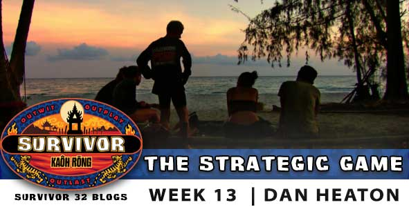 Survivor Strategic Game for season 32, episode 13