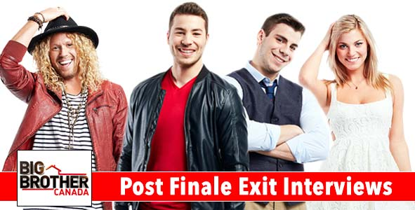 Big Brother Canada 2016: Interviews with the Final 3 - Nick & Phil, Tim and Kelsey