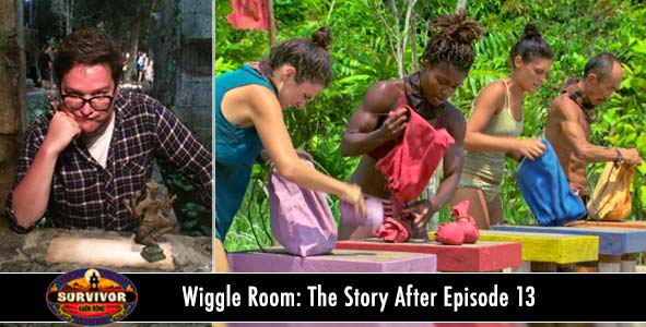 Survivor 2016: Wiggle Room covers the stories of Kaoh Rong Episode 13