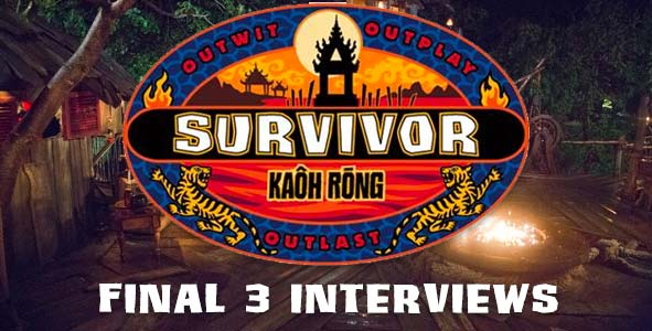 Survivor 2016: Interviews with the Kaoh Rong Final 3