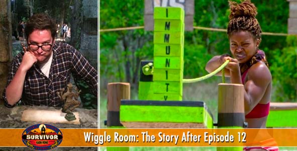 Survivor 2016: Wiggle Room covers the stories of Kaoh Rong Episode 12