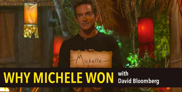 Survivor 2016: Find out why Michele won Survivor according to David Bloomberg's rules
