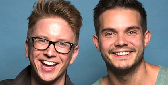 Amazing Race 2016: Tyler Oakley and Korey Kuhl talk about Amazing Race 28