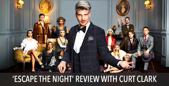 """Review of """"Escape the Night"""" from Joey Graceffa with Curt Clark"""