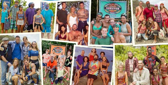 Survivor 2016: The Most Iconic 6-person Tribes of All-Time