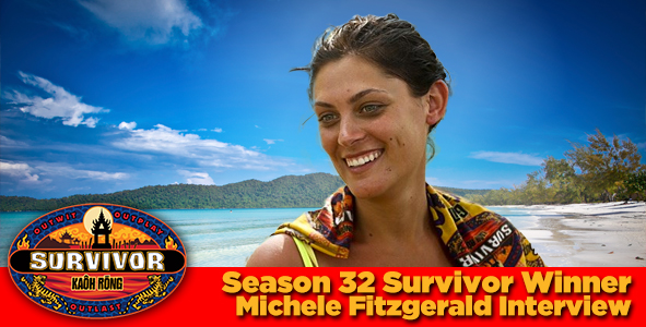 Survivor 2016: Catching up with Kaoh Rong's  Michele Fitzgerald.