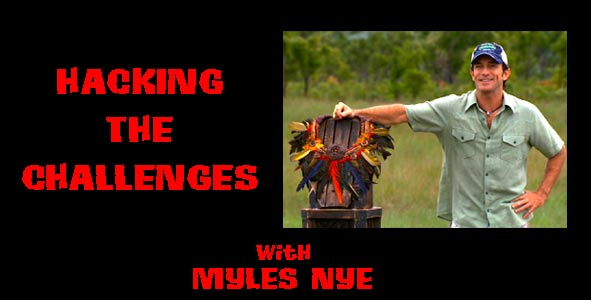 Hacking the Challenges: Myles Nye Discusses Emergent Strategies in the Survivor Challenges