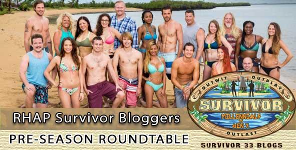 Survivor 33 bloggers preview