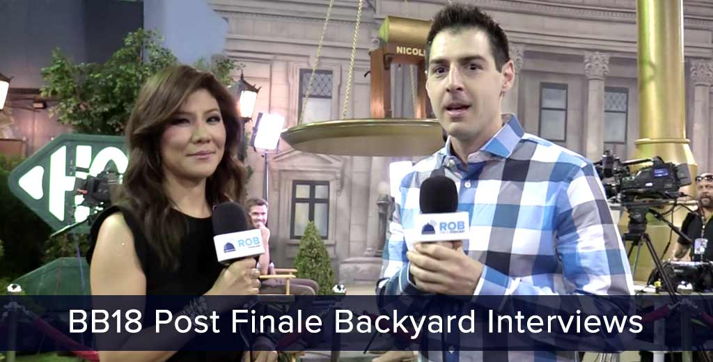Big Brother Backyard Interview Jeff Part - 15: Rob Has A Podcast