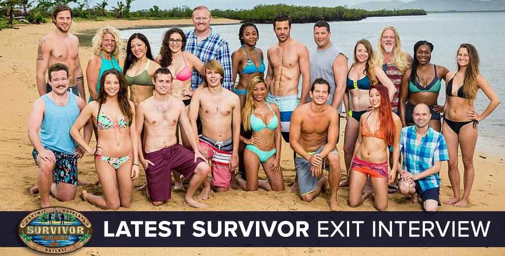 Survivor 2016: Exit Interview with the Latest Player Voted Off of Surviovr