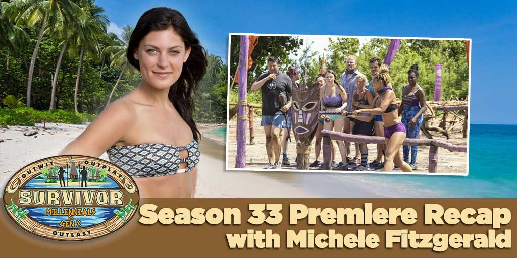 Survivor 2016: Millennials vs. Gen X Premiere Recap with Michele Fitzgerald