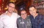 The RHAP Power Triumvirate: Stephen Fishbach, Josh Wigler, and Rob Cesternino.