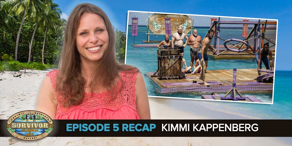 Rob Cesternino welcomes the two-time Survivor, Kimmi Kappenberg, back to the podcast to recap the Survivor 33 Episode 5.