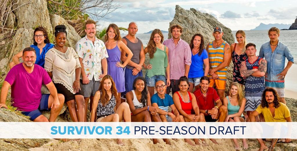 Survivor 34: Pre-Season Draft