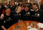 Team Genius: Pia Virolainen, Dom Harvey, Matt  Geoghegan, and Colin Stone.