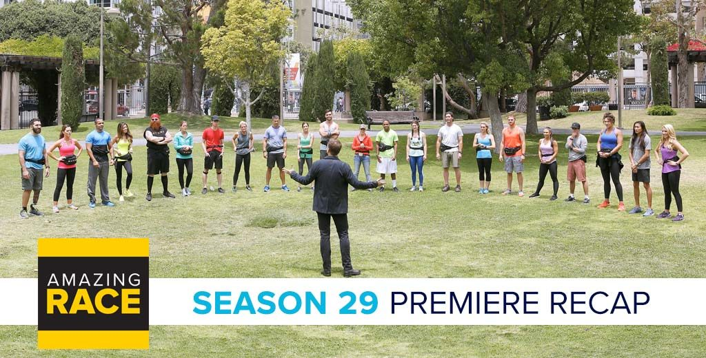 Amazing Race 2017: Season 29 Premiere Recap Podcast with Jessica Liese