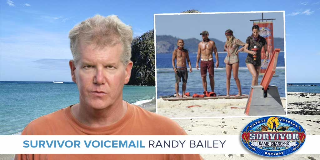 Survivor 2017: Randy Bailey answers feedback from Episode 5 of Survivor Game Changers