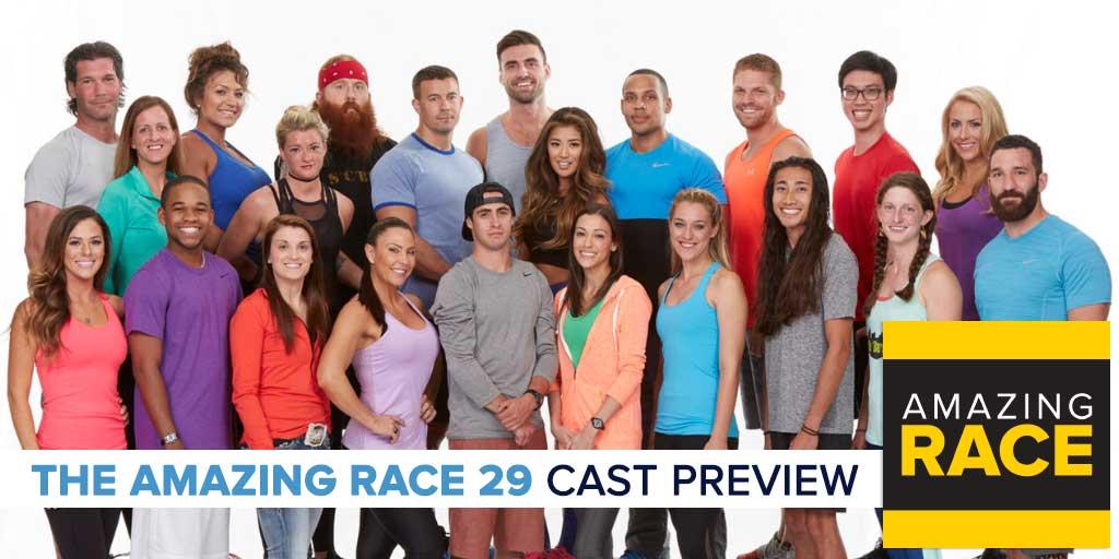 Amazing Race 29 | Cast Preview – RobHasAwebsite com